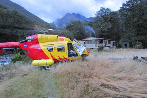 Photo / Nelson Marlborough Rescue helicopter