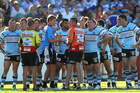 It is believed 10 current Sharks players will be interviewed by ASADA. Photo / Getty Images