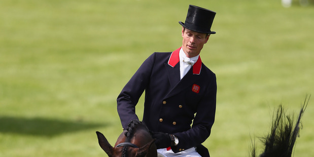 Nicholson and Nereo are in sixth after the dressage, 0.2 penalty points behind Fox-Pitt. Photo / Getty Images
