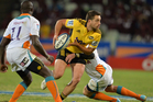 Tim Bateman during the Super Rugby match between Toyota Cheetahs and Hurricanes at Free State Stadium. Photo / Getty Images