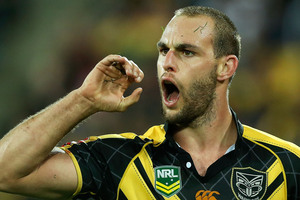 Simon Mannering has much more of an attacking edge now. Photo / Getty Images