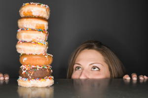 Women are up to 10 times more likely than men to have an eating disorder.Photo / Thinkstock