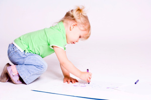 A desire to doodle starts when children are handed their first pencil or crayon.Photo / Thinkstock