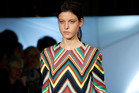 Mixing bold colours and patterns is a big trend on the catwalks this year. Photo / Getty Images