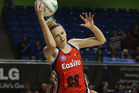 Jo Harten of the Tactix. Photo / Getty Images.