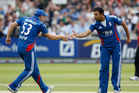 Ravi Bopara of England (right). Photo / Getty Images.