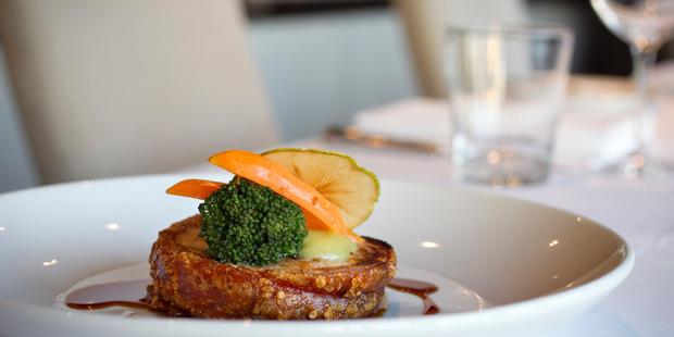 Pork Roulade from One Tree Grill, Epsom. Photo / Natalie Slade