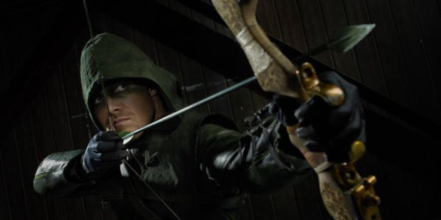 Stephen Amell as Oliver Queen in 'Arrow'. Photo / Supplied