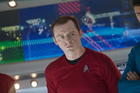 Simon Pegg is Montgomery 'she cannae take much more' Scott in Star Trek Into Darkness. Photo / Supplied