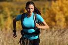 Norma Bastidas has run 1272km in seven months. Photo / Stuart Gradon