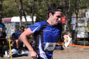 Matt Ogden's perfect race resulted in him becoming the first non-European to win the world junior orienteering title. Photo / Supplied