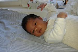 Leandro Gayo's mother died during childbirth and his father has been in the Philippines for her burial. Photo / Supplied