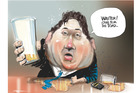 Those who knew Gilmore in the lead-up to 2008 election said he was constantly talking himself up and often described himself as the next Energy Minister. Illustration / Rod Emmerson