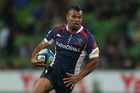 The Blues will have to contain the Rebels' Kurtley Beale. Photo / Getty Images