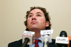 List MP Aaron Gilmore says he will need to learn how to show 'far more dignity, humility and grace'. Photo / Getty Images