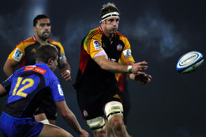 Craig Clarke rejoined the Chiefs after five games out through injury. Photo / Getty Images