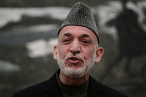 "Hamid Karzai declared handouts from the CIA and MI6 are an ""easy source of petty cash"". Photo / AP"