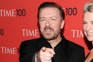 Comedian Ricky Gervais. Photo / AP