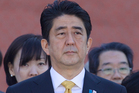 Shinzo Abe. Photo / AP