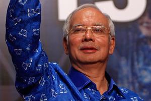 Malaysian Prime Minister Najib Razak. Photo / AP