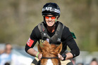 Andrew Nicholson riding Nereo in the cross-country event finished third behind Jonathan Paget at Badminton yesterday. Photo / AP