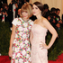 Anna Wintour, left, and Bee Shaffer.Photo / AP