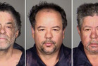 Clockwise from top left, Onil Castro, Ariel Castro, and Pedro Castro. Photo / AP