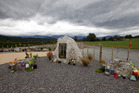 The Pike Families Memorial, in memory of the 29 miners killed in the Pike River coal mine disaster. Photo / NZ Herald