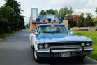 The Seattle police force have a fully-restored 1970 Plymouth Satellite police cruiser on their fleet. Photo / Supplied