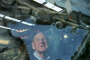 Decorated Kiwi pilot Les Munro will have plenty of time to reflect as a guest of honour at the Dambusters anniversary in England. Photo / John Borren