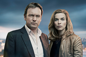 In Hidden on UKTV tonight Philip Glenister plays a solicitor whose shady past catches up with him. Photo / Supplied