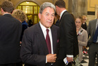 Winston Peters says it's better to work calmly through the GCSB legislation. Photo / Mark Mitchell