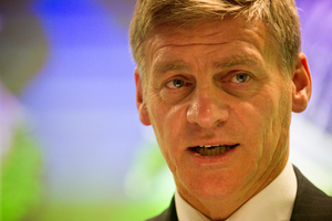 Finance Minister Bill English said next week's Budget would confirm the Government was on track. Photo / Greg Bowker