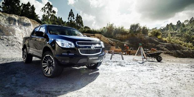 The Holden Colorado Extreme Limited Edition. Photo / Supplied