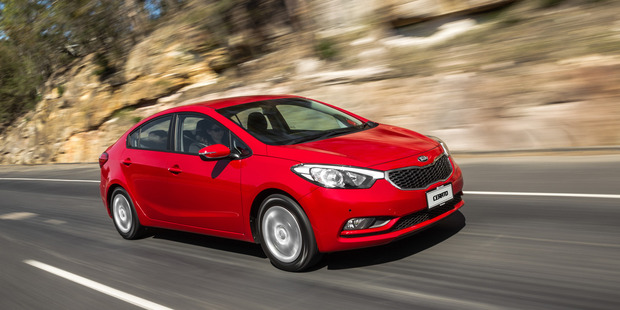 Kia Cerato. Photo / Supplied