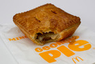 Pies could hurt McDonald's image - marketing expert