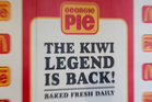 It is a fair bet the only thing people remember about Georgie Pie is its name. Photo / Sarah Ivey
