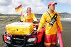 Piha lifesavers rely on their all-terrain vehicles. Photo / Doug Sherring