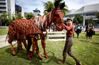 Five-time Tony Award-winning show <i>War Horse</i> has been scratched from its New Zealand run. Photo / Dean Purcell