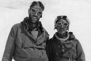 Sir Edmund Hillary and Tenzing Norgay. File photo / NZ Herald