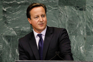 David Cameron. Photo / AP