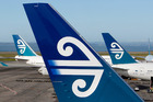 Air New Zealand planes. Photo / NZPA