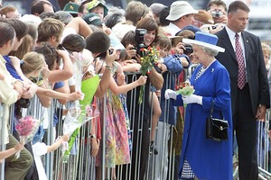 The Queen last visited New Zealand in 2002. Photo / APN