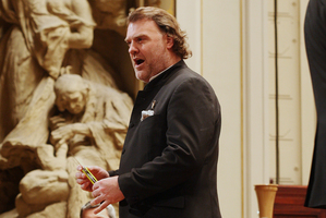 Rapt fans sang along with Bryn Terfel and the NZSO. Photo / Supplied