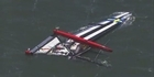 Watch: Sailor dies in capsize of America's Cup boat 