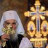 Serbian Orthodox Church Patriarch Irinej performs the traditional Orthodox Easter Liturgy in the St. Sava temple, in Belgrade. Photo / AP