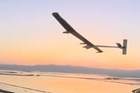 The Solar Impulse, an ultra-lightweight Swiss-built plane powered entirely by the sun, set off on a US coast-to-coast trip Friday, with the first leg taking it from an airfield near San Francisco to Phoenix, Arizona.