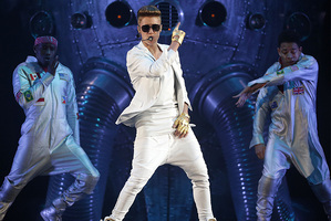 Bieber stage invader: 'I wanted to hug him'