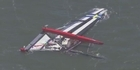 Watch: Raw: America's Cup boat capsized, killing one