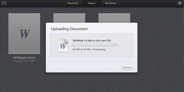 Documents in Apple's iCloud. Photo / Supplied